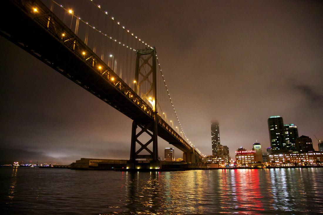 Bay Bridge Night