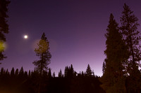 Purple Night at Yosemite