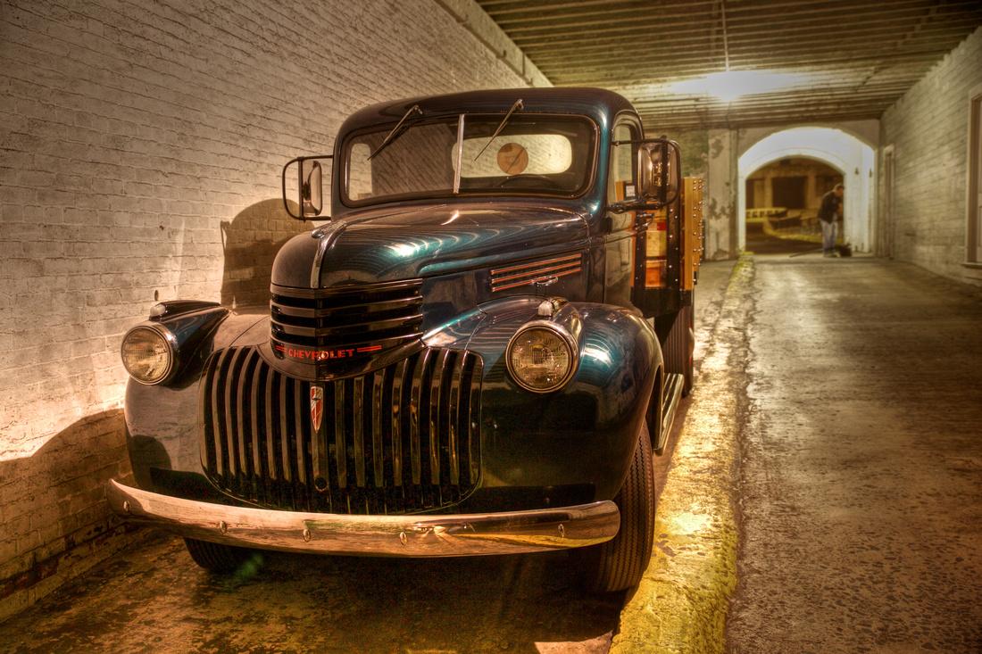 Classic Chevy at Alcatraz