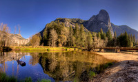 Swinging Bridge at Yosemite Valley 2